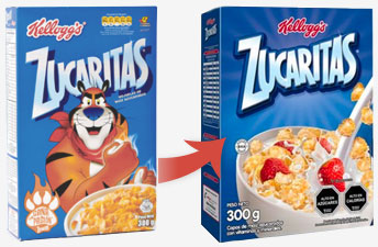 Chile Cereal Boxes
