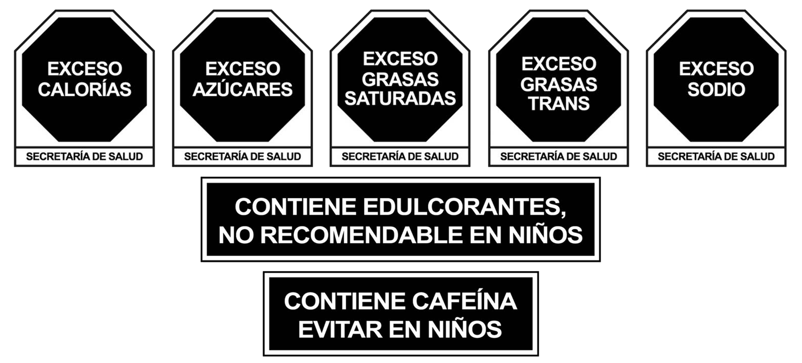 Mexico FOP Warning Labels